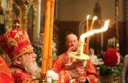 Õigeusu pasha, Nevski, püha tuli