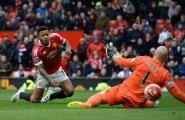 Memphis Depay (Manchester United) mängus Aston Villaga