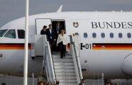 ФОТО: Канцлер Германии Ангела Меркель прибыла в Таллинн