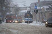 В Таллинне общественный транспорт ходит по свободному графику