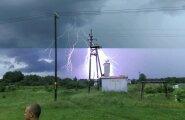 LUGEJA FOTO: Pikselöök Tartumaal sai õigel hetkel tabatud