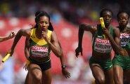 Nigeeria naiste 4x400 meetri teatenelik sai olümpiaks disklahvi