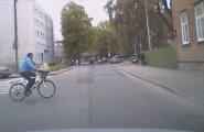 """VIDEO: """"Kust see jalgrattur järsku tuli?!"""""""