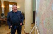 Vjatšeslav Leedo majandus-ja taristuminister Kristen MIchali juures.