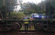 ФОТО: Ребенок на велосипеде попал под поезд, пытаясь объехать железнодорожный переезд по траве