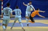 Saalijalgpalli finaalseeria 1 mäng Narva United vs Cosmos 13.03.2016