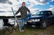 MINU AUTO: Indrek Vaheoja hea minekuga Saab