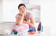 Emad — need on kodutööd, mille võite rahumeeli laste õlgadele lükata