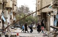 VIDEO: Süürias pommitati sünnitushaigla maatasa