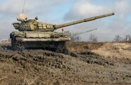 "Baltic Fleet holds tank exercises at ""Army"" shooting range"
