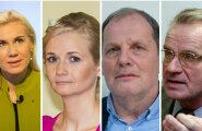 Kadri Simson, Siret Kotka, Peeter Ernits, Heimar Lenk