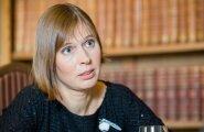 Президент Кальюлайд в Литве назвала формулу успеха Эстонии