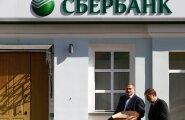 Varade mahult Venemaa suurim pank Sberbank.