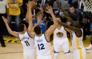 VIDEO: Valitsev meister jäi ellu: Warriors alistas Thunderi 9 punktiga