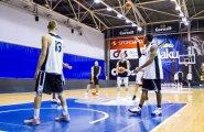 Tartu Ülikooli Korvpallimeeskonna treening 28.09.16