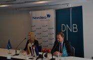 DNB ja Nordea Balti juhid Inga Skisaker ja Mats Wermelin