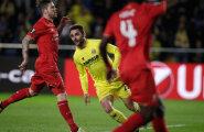 VIDEO: Liverpool kaotas poolfinaalis Villarealile üleminutite väravast