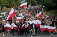 Arkadiusz Jóźwiki mälestamine 3. septembril Harlow's. Kohalik Poola kogukond korraldas ka rongkäigu.