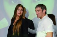 Anastasia Shubskaja ja  Aleksander Ovechkin