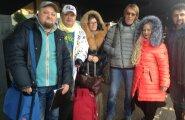 ФОТО: Звезды шансона под руководством Юрия Алмазова прилетели в Таллинн