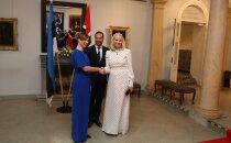 FOTOD | Norra kroonprints Haakon ja kroonprintsess Mette-Marit söövad Kaljulaidiga pidulikult õhtust