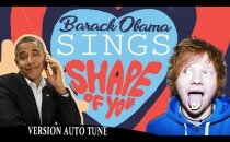 """VIDEO: Barack Obama laulab Ed Sheerani hittlugu """"Shape of you"""""""