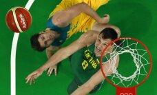 Сборная Литвы вылетела с баскетбольного турнира Олимпиады