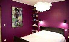 """""""Minu kaunis magamistuba"""": Tumelilla ja valge kooslus"""
