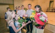 ФОТО читателя Delfi: Как поздравляли матерей в Выруском уезде