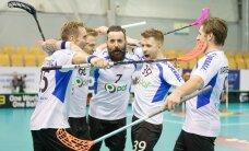 VIDEO: Eesti saalihokikoondis tuli Taani vastu 0:5 kaotusseisust välja, kuid langes lisaajal