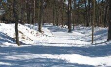 Jabur lugu: traktorist kooris suusaraja lumest puhtaks