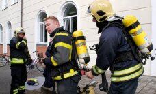 ФОТО: Спасатели Кохтла-Ярве провели учения в гимназии