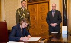 Президент Кальюлайд подписала верительные грамоты трех послов ЭР
