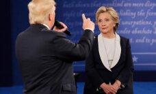 Второй раунд дебатов в США: Трамп обрушился на семейство Клинтонов