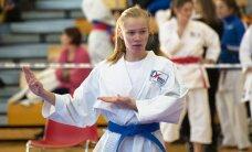Anna Sokk jätkas noorte karatekade kuldset ajastut