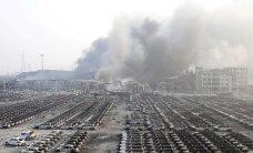 VIDEO JA FOTOD: Hiina suurlinnas kärgatanud plahvatuses hukkus 44 ja sai vigastada mitusada inimest