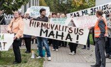 Eesti omavalitsusi oluliselt muutva haldusreformi seaduse eelnõu läbis riigikogus esimese lugemise
