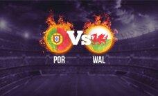 EURO 2016: Esimese finalisti selgitavad Portugal ja Wales