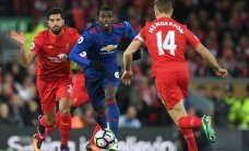 FOTOD: Klavanita mänginud Liverpool ja Manchester United jätsid väravad löömata