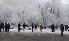 ФОТО и ВИДЕО: В Киргизии грузовой самолет упал на дачный поселок