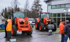 Paides tutvustati Kubota traktoreid