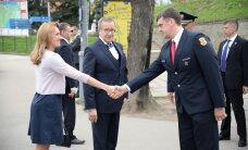 ФОТО: Президентская чета прибыла в Нарву