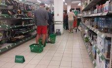 PILTUUDIS: Prisma hiigeljärjekorras nägi alla andnud klientide põrandale jäetud ostukorve