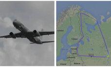 Venemaa uus tipptehnoloogiaga luurelennuk lendas kaks korda mööda Eesti piiri