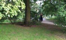 ФОТО: В Таллинне у Вируских ворот мужчина получил ножевые ранения