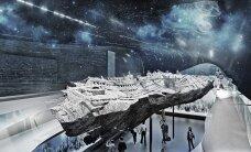 PIILU TULEVIKKU: Paksus Margareetas asuv meremuuseum ehitatakse ütlemata moodsaks: periskoobid õues, suitsusein väravaavas, tähistaevas laes ja mereelu seintel