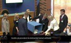 100 SEKUNDIT: Eestile jäi president ka kolmandal katsel valimata; lapsporno valmistamises süüdistatav kirjanik Kaur Kender peab läbima vaimse tervise ekspertiisi