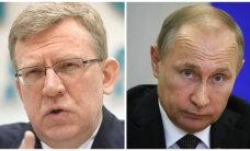 Vedomosti: endine rahandusminister Kudrin püüdis veenda Putinit leevendama geopoliitilist pinget