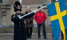 """VIDEO: Rootsi kuningalossi hoovis mängis orkester """"Euphoriat"""""""