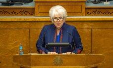 Марина Кальюранд была представлена в кандидаты на пост президента Эстонии
